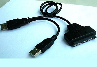 CablesOnline USB-SA03 High-Speed USB 2.0 to eSATA//Serial ATA Bridge Adapter