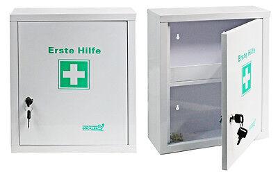 Erste Hilfe Schrank Metall mit Füllung DIN13157 SÖHNGEN® Betriebsverbandskasten