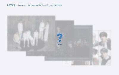 BTS MAP OF THE SOUL : 7 Album CD+Book+M.Book+Lyric+P.Card+Post+Sticker+F.Poster 9
