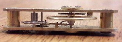 A Small Size Part Curved Platform Escapement.