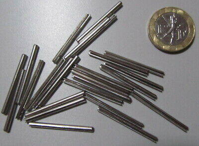 Stainless Steel.Metric Slotted Spring Pin, M2 Dia x 30 mm Length, 50 pcs 5