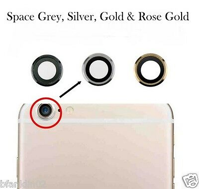 Genuine SAPPHIRE iPhone 6 6S 6 Plus 6S Plus Glass Back Camera Lens Rear Cover