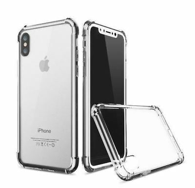 for iPhone Xs 8 7 6 Plus Case Cover silicon Shock proof Tough Hard Gel Lot 5 SE 5