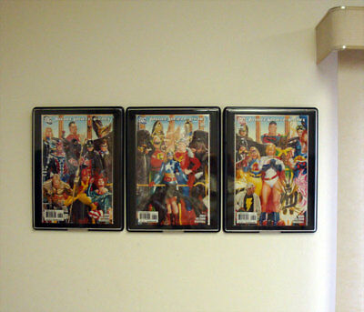 BCW Comic Book Showcase - Framed Display Case - Hangs On Wall - Current Size 3
