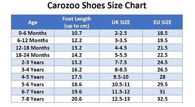 carozoo Fr bébé chaussons bébé fille enfant chaussures cuir jusqu'à 8 ans 2