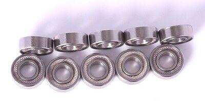 5x11x4mm Ball Bearings MR115 Bearings 5x11mm Bearings 10 pieces