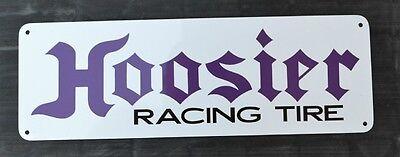 HOOSIER RACING TIRE Sign High Performance Tire Shop Mechanic Parts Garage 10day