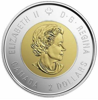 2019 CANADA 🥇 D-Day $2 Dollar Coin - Colored + $1 EQUALITY $1; BU from Roll 🏆 3