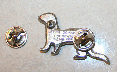 FERRET Pet Harris Fine PEWTER PIN Jewelry Art USA Made