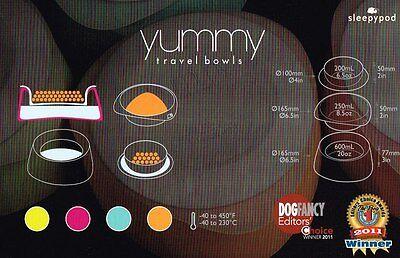 Yummy Travel Bowl medium - Multifunktions-Hundenapf für unterwegs von SLEEPYPOD