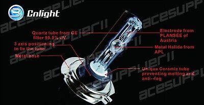 CNLIGHT H7 HID Xenon Replacement Bulb 2 Bulbs Headlight 35W 50W AC Metal Base UK 9