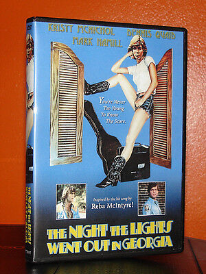 NIGHT THE LIGHTS WENT OUT IN GEORGIA Kristy McNichol Best Quality! 2