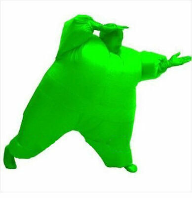 Inflatable Fancy Chub Fat Masked Suit Dress - Blow Up Christmas Party Costume 3