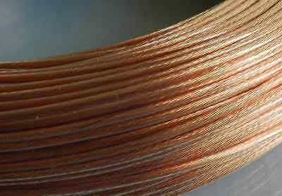 6N OCC copper wire 10m Vanguard Acoustics 1.5mm square DIY Hi Fi Audio cable