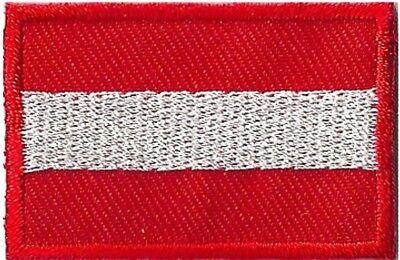 Badge écusson patche thermocollant Autriche petit patch 45 x 30 mm 2