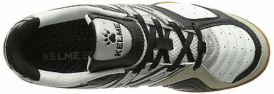 44fd320cf ... Kelme Star 360 Michelin Mens Leather Indoor Soccer Shoes White   Black 5