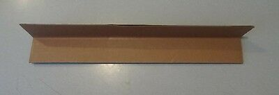 "60 VBoard LAMINATED CARDBOARD CORNER EDGE PROTECTORS 2.25"" X 2.25"" X .160 X 15"" 2"