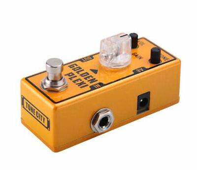 Tone City Golden Plexi Distortion Guitar Effect Compact Foot Pedal New 3