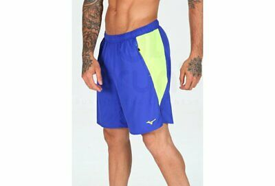 Blue Mizuno Impulse Core 5.5 Inch Mens Running Shorts