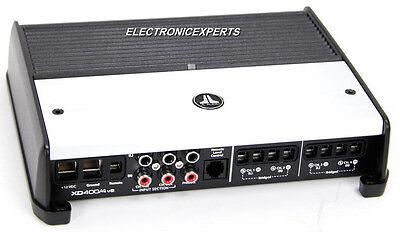 JL AUDIO XD400/4V2 4/3/2 Channel Amplifier 400 Watts Car Speaker Sub Amp  NEW XD