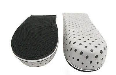 Lift Mesh Memory Foam Height Increase Insole Shoe Pad Cushion Heel insert YHS0