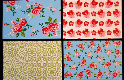 "*ROSE GARDEN* Beautiful Papers x 16- 15cm x10cm (6 x 4"") Scrapbooking/Cardmaking"