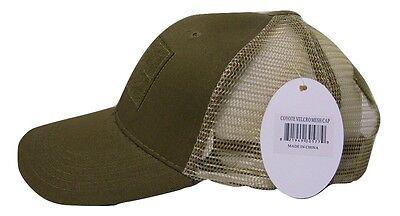 4f9ed02f424 ... Coyote Mesh Operator Operators Tactical Cap Hat Patch adjustable strap 3