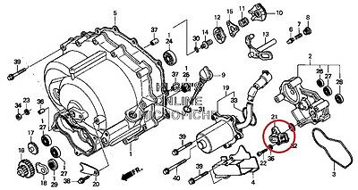 Oem Honda Trx250 Recon Trx350 Trx420 Rancher Trx500 352008773431
