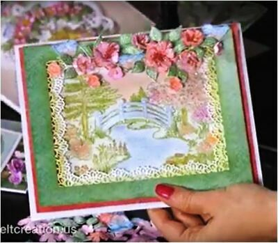 Heartfelt Creations Stamps ~ HAVEN OF DAYDREAMS ~ HCPC3869