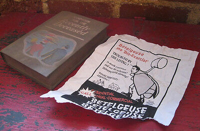 Beetlejuice Handbook For The Recently Deceased Book & Flyer Prop Set 1:1 2