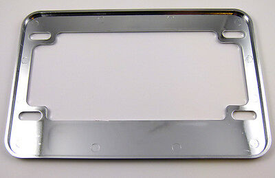 Switzerland Swiss flag Motorcycle Bike ABS Chrome Plated License Plate Frame