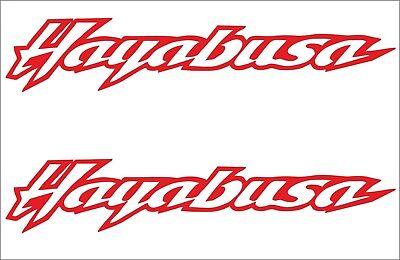 4 Von 6 2 X Suzuki Hayabusa Aufkleber 160 Mm 30 Viele Farben