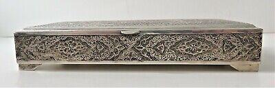 Hallmarked Silver Hand Crafted Jewelry Cigar Box 8