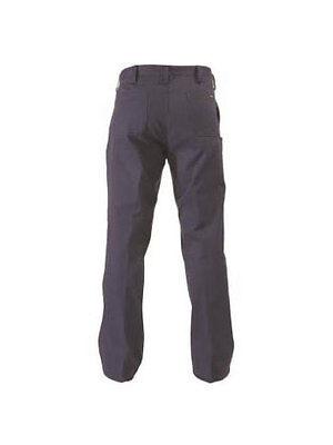 5 X Bisley Workwear Navy Original Cotton Drill Work Pant Navy Pants (Bp6007) 3