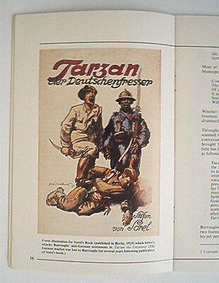 Library Review Edgar Rice Burroughs Spezial von 1980 Tarzan
