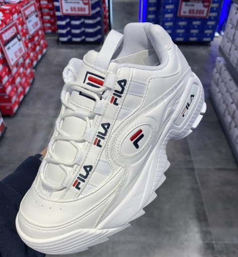 FILA DISRUPTOR IIL 3 Formation White Sneakers Shoes