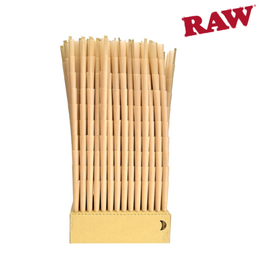 RAW Natural Cones Pre-Rolled King Size Box 1400 - CERTIFIED RAW Re-seller 2