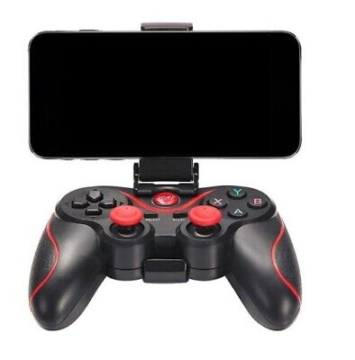 Bluetooth Wireless Gamepad Joystick Joypad Controller di gioco per PC Android iP 4