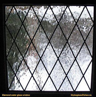 Windows diamond leaded glass all sizes  True leaded glass no lead tape or foil 3
