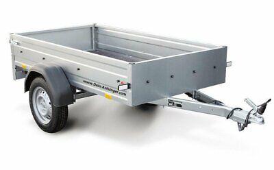 STEMA PKW Anhänger OPTI 750 Kg Inkl.großes Zubehörpaket 33cm h Bordwände 13Zoll 2