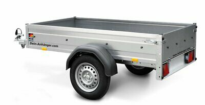 STEMA pkw  Anhänger OPTI 750 Kg 33cm hohe Bordwände 13Zoll 100KM/H Freigabe Neu 3