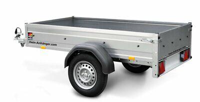 STEMA PKW Anhänger OPTI 750 Kg Inkl.großes Zubehörpaket 33cm h Bordwände 13Zoll 3