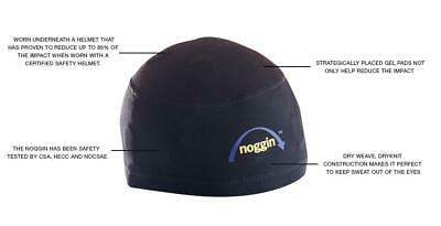 Douglas Noggin Football Padded Gel Skull Cap Hockey Anti-Concussion Teen Adult