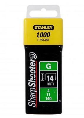 Stanley Heavy Duty Staples (6MM / 8MM / 10MM / 12MM / 14MM) 1000 Free post