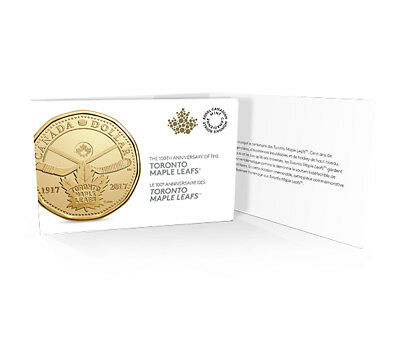 2017 Canada Toronto Maple Leaf 100th Anniversary $1 Dollar Loonie 5-Coin Pack 6