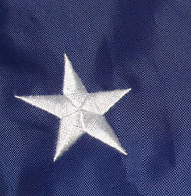 3 PACK - 3x5 Ft American Flag US USA Embroidered Nylon Deluxe Stars Sewn Stripes 4