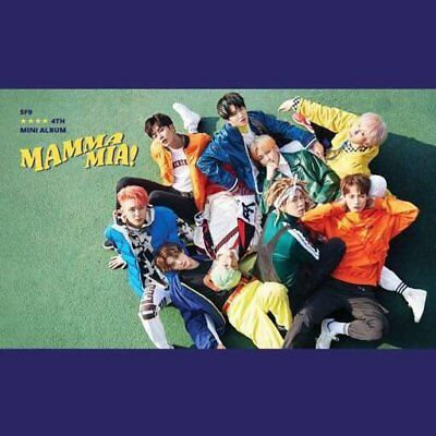 SF9-[Mamma Mia!] 4th Mini Album Special Edition CD+Booklet+PhotoCard+Mark+Gift 5