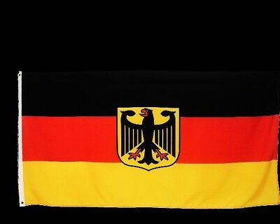 Deutschland Fahne mit Adler 90x150cm deutsche Hiss Flagge Nationalflagge der BRD