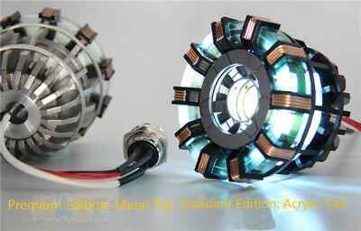 Iron Man Tony Stark MK2 Arc Reactor Display Box USB Powered/Remote Control Gift 5