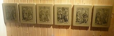 Lithographiesteine mit Ätzung 7